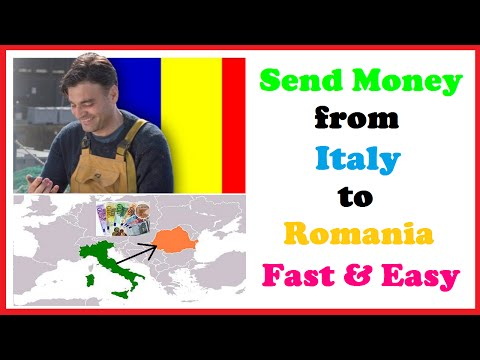 Send Money from Italy to Romania Fast & Easy