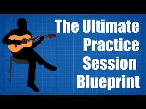Guitar Practice Routine – The Ultimate Guitar Practice Session Blueprint
