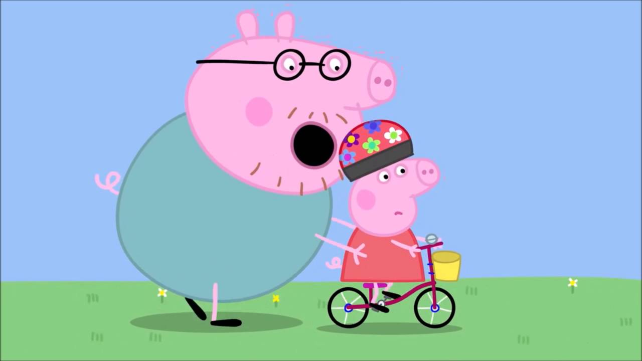 Mlg Peppa Pig Learns How To Ride A Bike Episode 1