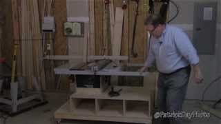 Diy Table Saw Workstation/cabinet (part 3 Of 3)