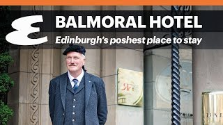 Balmoral Hotel Edinburghs poshest place to stay Esquire Travel