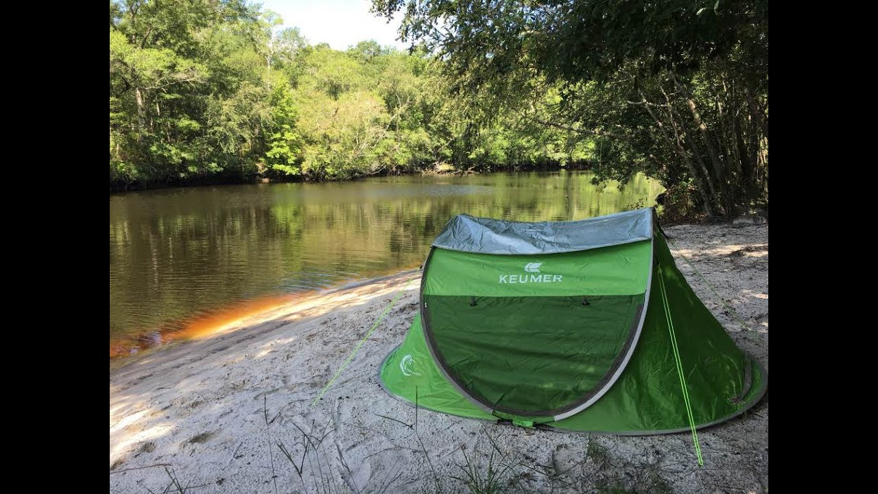 Pop Up Tent By Zomake Review And Demo Youtube