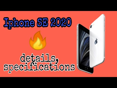 New Launched Iphone SE 2020 | Details, Specifications, Pricing.