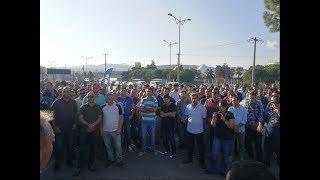 Aliağa'daki TÜPRAŞ işçileri bu kez de tam gün iş bıraktı