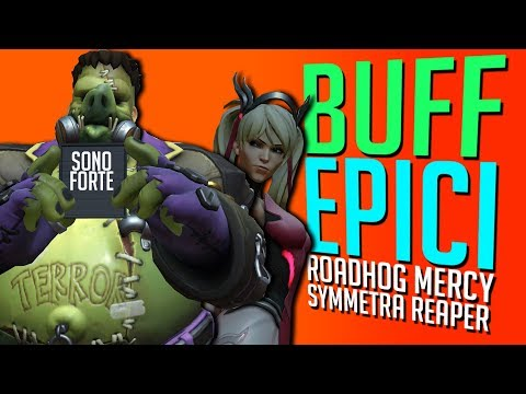 BUFF EPICI A ROADHOG, MERCY, REAPER e SYMM! OVERWATCH PTR ANTICIPAZIONE BLIZZCON thumbnail