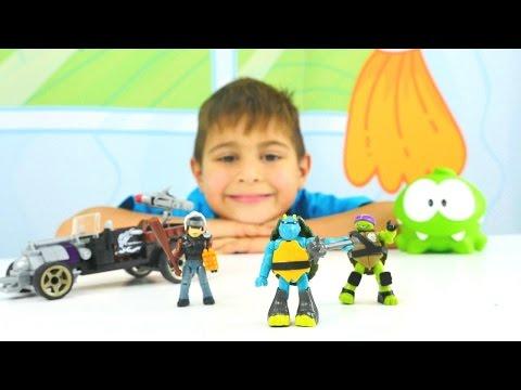 Çizgi film oyuncakları. Ninja Kaplumbağalar ve Lego