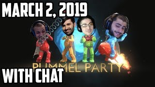 Tyler1 Plays Pummel Party w/ Trick2g, Yassuo & Voyboy [WITH CHAT] [March 2, 2019]