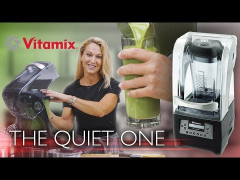 "Vitamix ""The Quiet One"" Review - Noise Reduction Beverage Blender"