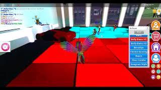 MY FIRST ROBLOX DANCE VIDEO!!! :D