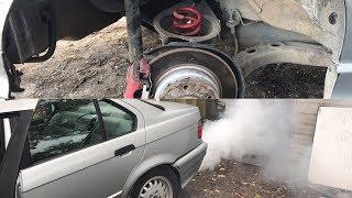 E36 Drift Car, Slam IT, Cut Springs, Street Drifting COPS..