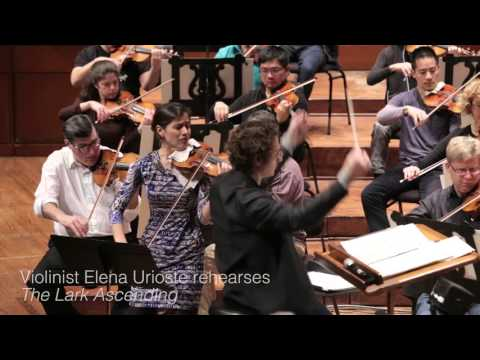 SFS in Rehearsal: Elena Urioste plays Vaughan Williams
