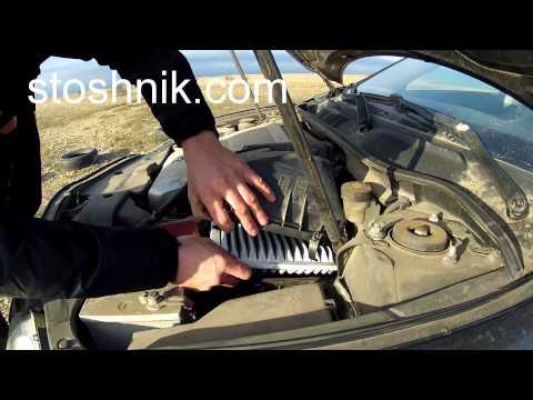 Как заменить воздушный фильтр ТОЙОТА КАМРИ 08 / HOW TO REPLACE AIR FILTER TOYOTA CAMRY