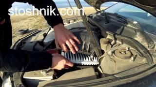 видео Замена воздушного фильтра на Toyota Camry