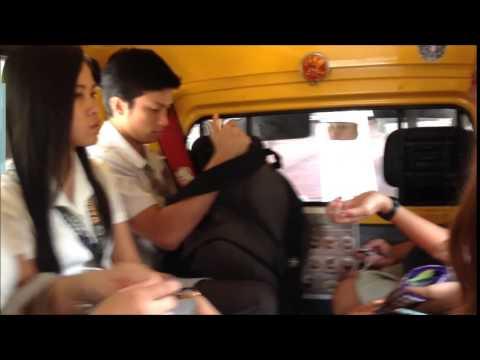University of San Carlos-Talamban Campus' Shuttles Trailer