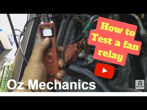 99 Jeep Grand Cherokee fan relay - YouTube  Jeep Cooling Fan Relay Wiring on