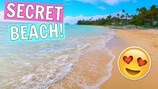 BEST SECRET BEACH IN HAWAII || HONEYMOON IN HAWAII