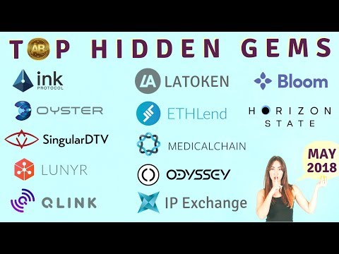 Top Altcoins - Hidden Crypto Gems for May 2018
