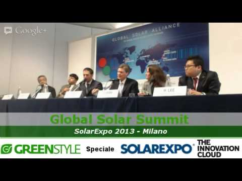 Global Solar Summit Milano