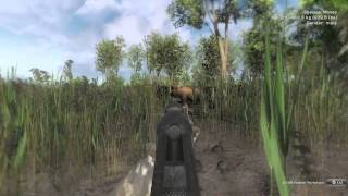 The Hunter Pc Gameplay 14 HD When Moose Attacks