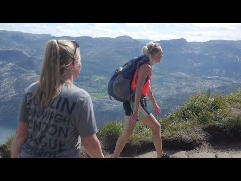 DAY TRIP TESLA MODEL S TO PULPIT ROCK! - Travel Norway vlog 163