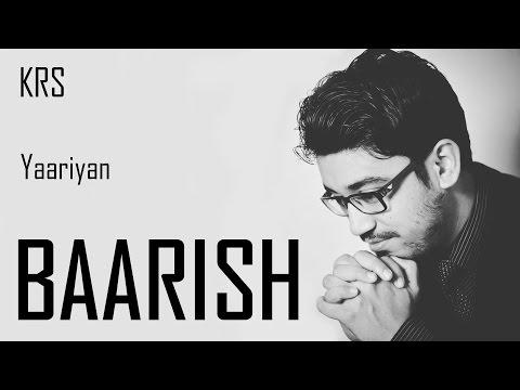 Baarish Karaoke | Instrumental | Yaariyan | Mohammed Irfan | Mithoon | KRS