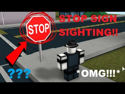 OMG STOP SIGN SIGHTING!1!!11 *IT DIDNT DO ANYTHING*
