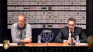 Persconferentie  Donar vs ZZ Leiden 110519