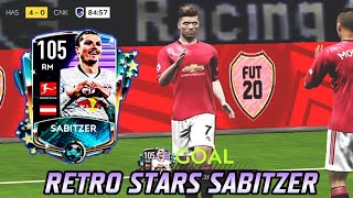 FINALLY! THE FIRST RM WITH ATTACKING BOOSTS! RETRO STARS SABITZER REVIEW! FIFA MOBILE 20