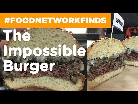 """The """"Impossible"""" Veggie Burger That Actually Bleeds 
