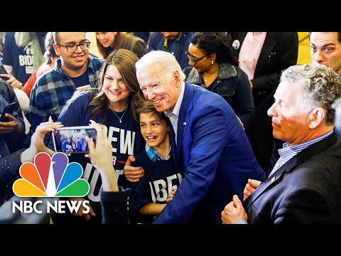 Biden: Primaries Will Determine 'What Direction We Take As A Party'  NBC News