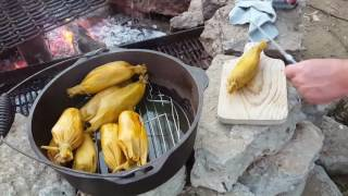 How to Steam Dutch Oven Tamales