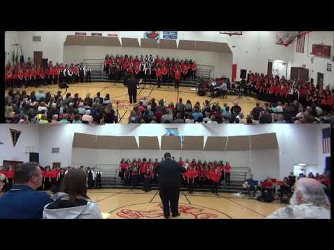"""This is Me"" DUNDEE MIDDLE SCHOOL CHORUS CONCERT FINALE (6th, 7th, 8th grade chorus members)"