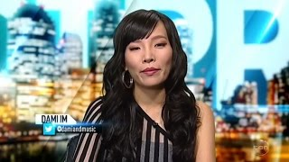 Dami Im on The Project TV Channel 10