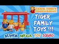 Daniel Tiger's Neighborhood Toys | BRAND NEW Tiger Family Toys! + Treehouse & Trolley Play!