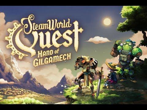 Steamworld Quest - Beautifully Drawn Card Based Steampunk RPG