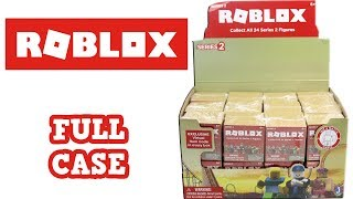 Roblox Series 2 Blind Box Full Case Unboxing Full Set Opening Entire Case
