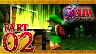 The Legend of Zelda: Ocarina of Time 3D - Part 2 - Inside The Deku Tree