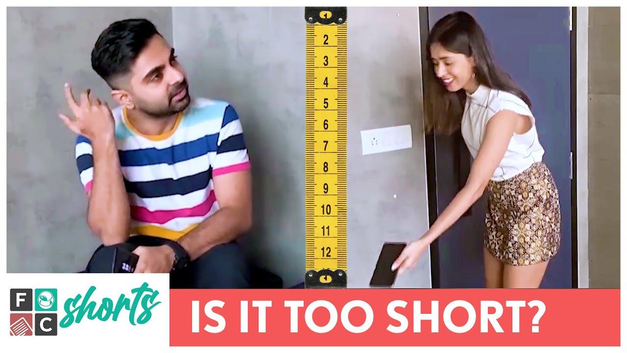 FilterCopy Shorts   Is It Too Short?   Ft. Akashdeep Arora & Devika Vatsa   #Shorts
