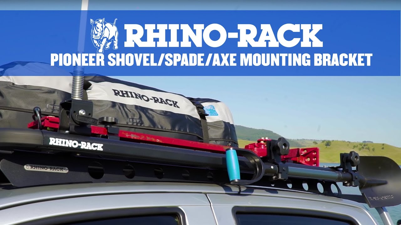 Rhino Rack Pioneer Shovel Spade Axe Mounting Bracket