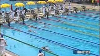 200m costas feminino no Troféu Maria Lenk
