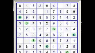 Sudoku 9x9. Level - Very Easy 9