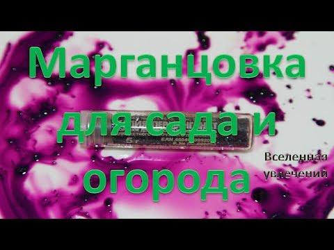 МАРГАНЦОВКА ДЛЯ САДА И ОГОРОДА vselennaya uvlesheniy