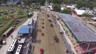 midwest old threshers reunion 2016 drone
