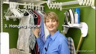 Laundry Room Ideas-the Basic 12 Elements- | Clutter Video Tip