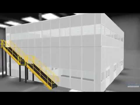 Two story 5000 square foot modular office building youtube for 5000 square feet building