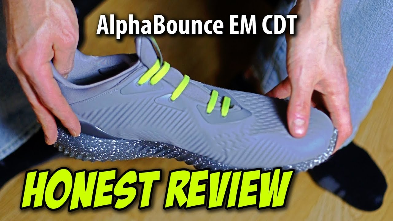 2a34ea7a5 Adidas AlphaBounce - YouTube
