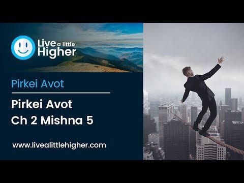 Pirkei Avot Ch 2 Mishna 5