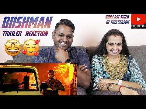 Biishman Trailer Reaction Review | Malaysian Indian Couple | Sha's Last Video For First Season