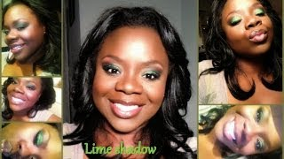 Lime Green Eye Shadow Makeup Tutorial Thumbnail