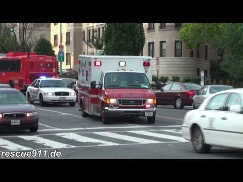 Medic 5 DCFD + Police car MPDC